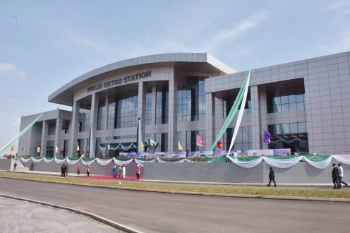 The Abuja Metro Rail Station inaugurated by President Muhammadu Buhari in Abuja on Thursday (12/7/18) 03727/12/7/2018/Callistus Ewelike/NAN