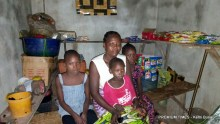 Rhoda and three of her children