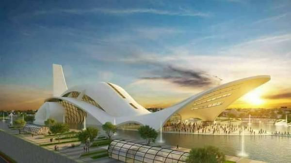 The design of the International Worship Centre, Akwa Ibom State