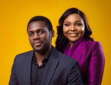 The groom-to-be olusoji Jacobs and his bride Boma Douglas