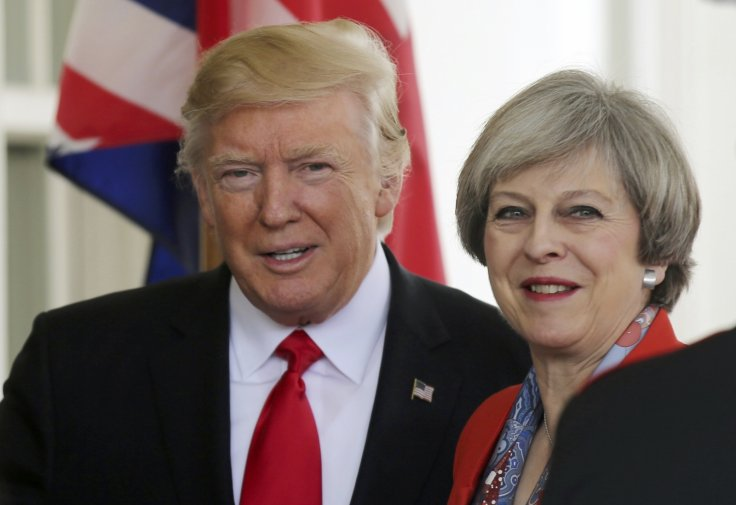 Donald Trump and Theresa May [Photo: TheHill.uk]