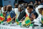 President Muhammadu Buhari at the 53rd Session of the Authority of Heads of State and Government of ECOWAS