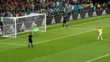 The Penalty shootout between Colombia and England (Photo Credit: Reuters)