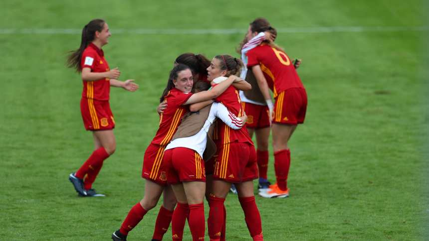 Spanish team: U-20 Women World Cup France 2018 [goal.com]