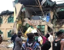 MusiciYinka Ayefele's radio station demolished in Ibadanan Yinka Ayefele's radio station demolished in Ibadan
