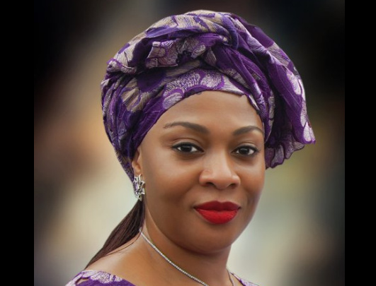 Gbemisola Saraki. [Photo credit: Facebook page of Gbemisola Saraki]