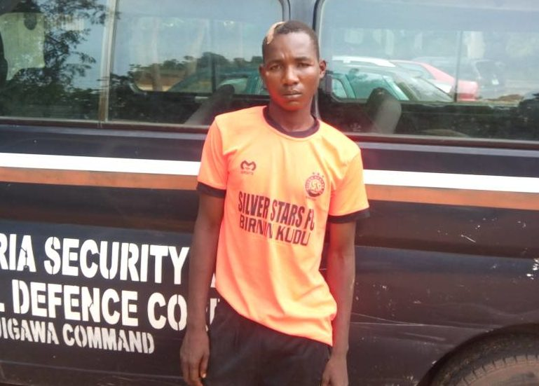 Student Arrested by the NSCDC