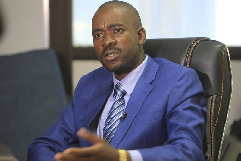 Nelson Chamisa (Photo Credit: Report Focus News)