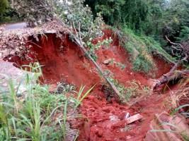 File Photo of an erosion in Anambra (Photo Credit: NAN)