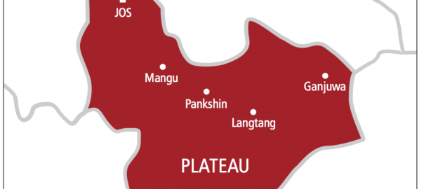 Plateau State on map used to illustrate the story