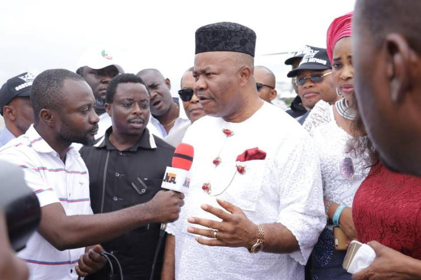 Image result for Akpabio accepts defeat