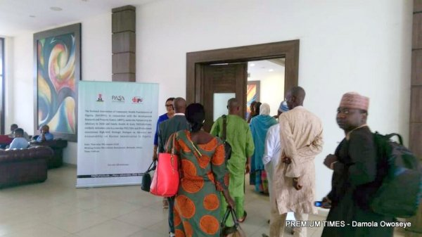 Participants at the one day dRPC high strategic dialogue on routine immunization.