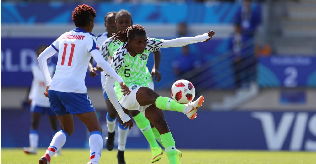 Nigeria soar to quarter-finals of U20 Women World Cup, draw China