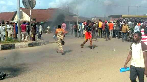 Protest in Akure