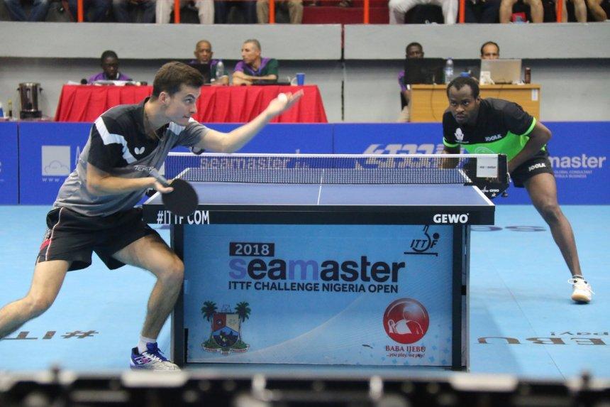 Aruna Quadri against Frenchman Antione Hachard