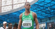 Reigning national champion, Seye Ogunlewe