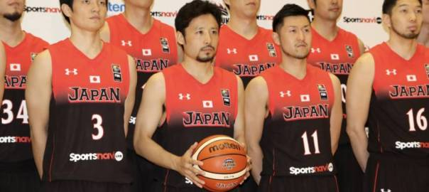 Japan Basketball team used to illustrate the story. [PHOTO CREDIT: The Japan Times]