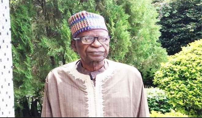 Yahaya Kwande, elder statesman and member of the APC's Board of Trustees (BOT). [PHOTO CREDIT: Daily Trust]