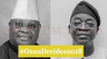 Photo Collage of #OsunDecides2018 top gubernatorial aspirants