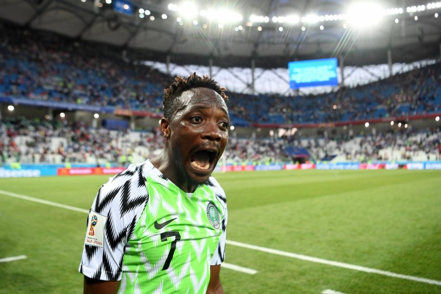 File photo of Ahmed Musa