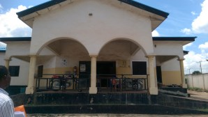 Front view of Abaji centre