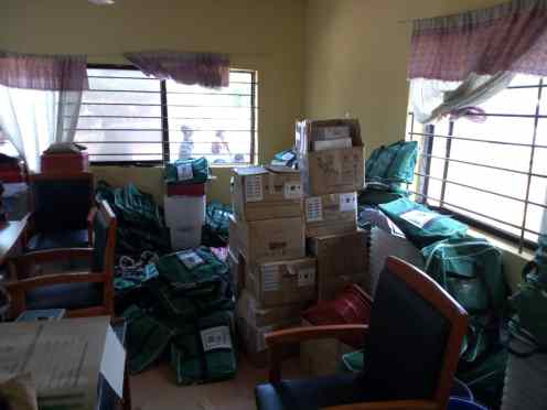 Sensitive electoral materials for the Osun governorship election