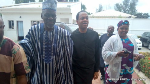 Donald Duke entering SDP