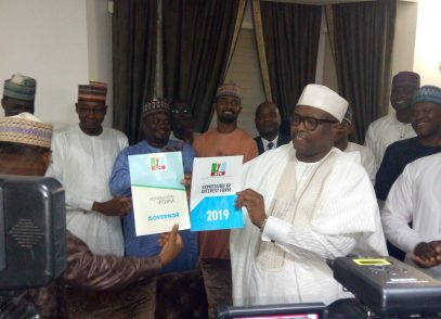 Businessman vows to challenge Gov Bindow, gets APC nomination form