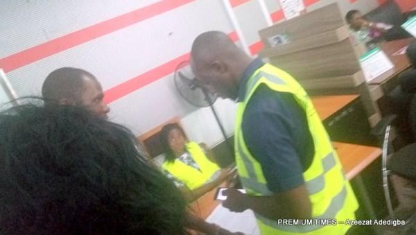 Passengers at the Nnamdi Azikiwe International Airport Abuja