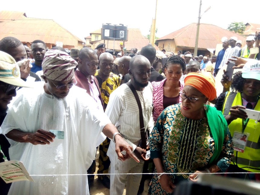 Aregbesola votes, expresses satisfaction with election conduct