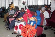 Participants at Minna Book and Arts Festival
