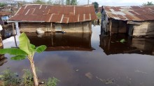 FILE: A flooded neighborhood used to illustrate the story Valentine Franco/BJO/NAN
