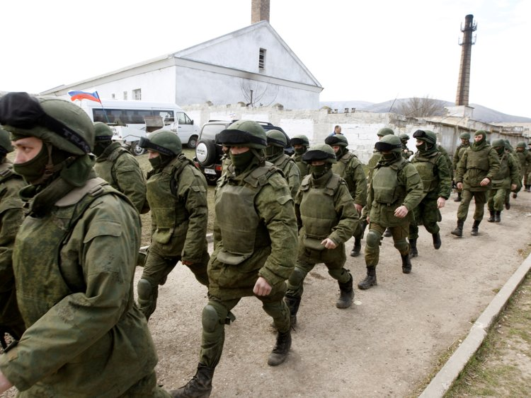 Russian troops [photo: Business Insider]