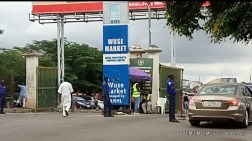 entrance of Wuse market.