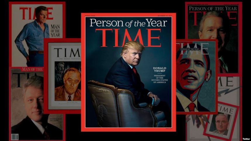 Time magazine [Photo: VOA News]