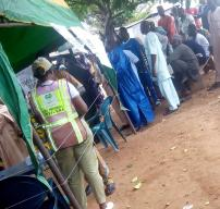 Election is going on peacefully at Ifon Orolu Local Government, Olufon Orolu D (Ward 4), Bolorunduro 1 (Polling Unit 5) as at 11:01AM