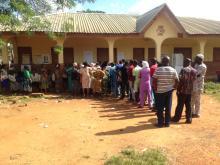 PU 03 st Matthew pry school ward 03 ijebu ijesha oriade lga voting still on at 3:35pm