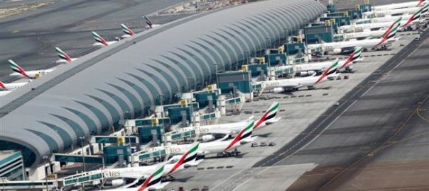 Dubai Airport used to illustrate the story. [PHOTO CREDIT: PressTV]