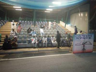 Lagos state delegates present