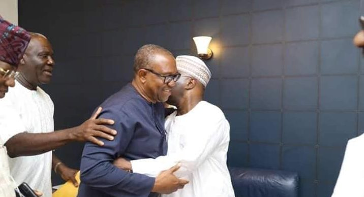 Atiku Abubakar and Peter Obi