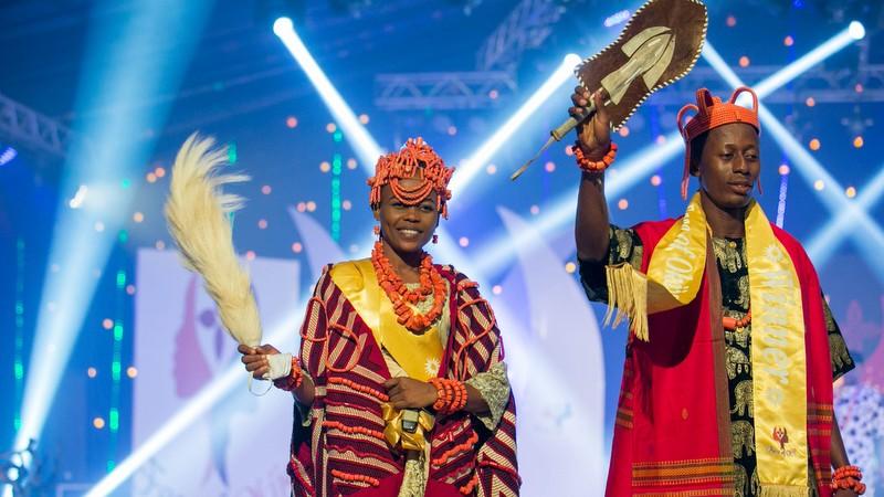 2017 Face of Okija winners, Chinasa Ezeamaka and Chukuwi Enukoha