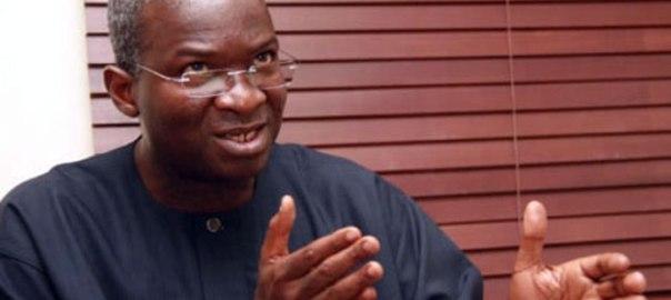 Former Lagos state governor, Babatunde Fashola
