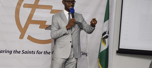 Frederick Adetiba, Lead Pastor, The Finishing Church