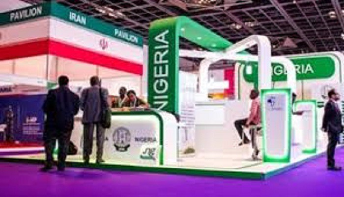 Nigeria stand at the Gulf Information Technology Exhibition [Photo: Innovation Village]