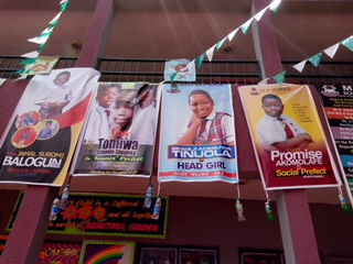 Some of the campaign posters