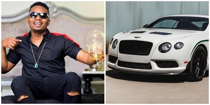 Olamide's bentley