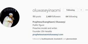 Ooni's new bride Instagram before