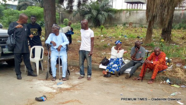 Pensioners await clearance