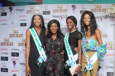Pix 5 Lota Chukwu (2nd Left) and Nigerian beauty Queens