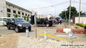 Yusuf forcefully enters office with police support